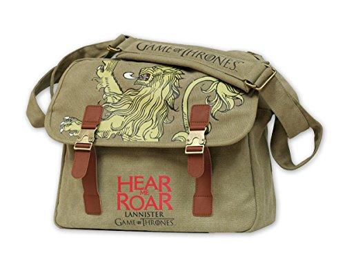 Bolso de mensajero Game of Thrones/Juego de Tronos Casa Lannister 'Hear Me Roar'