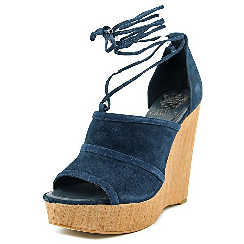 vince-camuto-maleena-donna-us-11-blu-scarpa-con-la-zeppa