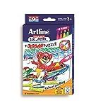 Artline jumbo wax crayons & Jigsaw puzzl...
