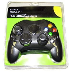 BLACK XBOX FIRST GENERATION CONTROLLER