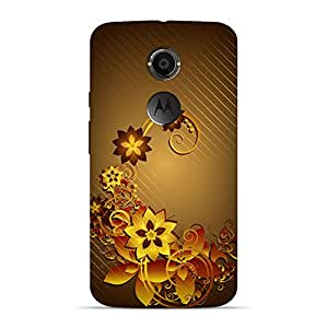 Mobile Back Cover For Motorola X2 (2nd Generation) (Printed Designer Case)