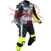 Moto motocicleta de carreras de piel MotoGP Valentino Rossi Moto Traje de Piel