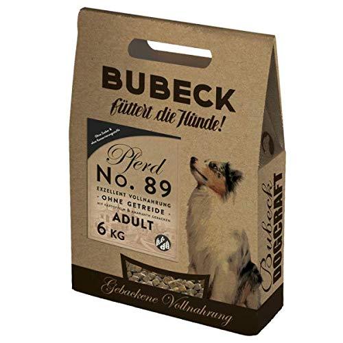 Bubeck - Trockenfutter - No. 89 Pferdefleisch - getreidefrei - 6kg