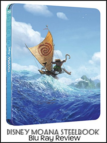 Review: Disney Moana Steelbook Blu Ray Review [OV]