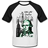 Photo de Teesquare1st Men's JOSEPH HAYDN COMPOSER Black Short Sleeved T-shirt par TEESQUARE1st