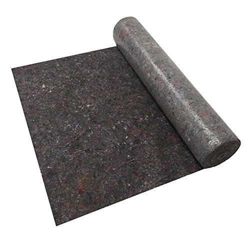 Telo di protezione imbianchino, feltro per imbianchino assorbente protezione pavimenti, tutte le dimensioni (1 x 50 metri)