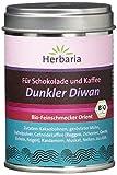 Herbaria Dunkler Diwan - Gewürz für Kaffee und Schokolade, 1er Pack (1 x 70 g) - Bio