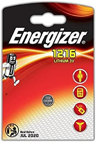 Energizer CR1216 Pile Lithium 3V
