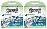 Wilkinson Sword Quattro Titanium lames sensibles, 16 pièces