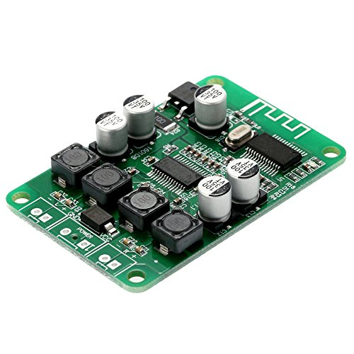 KKmoon Micro USB DC 5V Bluetooth Audio Receiver Digitaler AMP Modul Verstärker Board Modul 2 x 3W Leistung Micro USB Schnittstelle 4-8 ohm Dc-6 Micro-usb