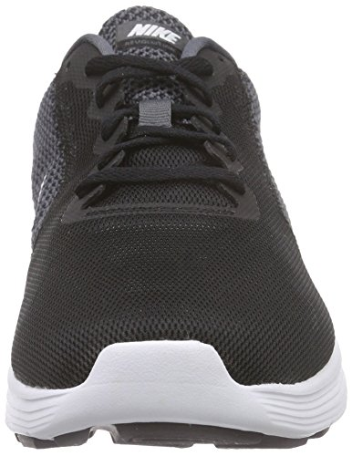 NikeNike Revolution 3, Damen Laufschuhe - Scarpe Running Donna Nero (Dark Grey/White-Black 001)