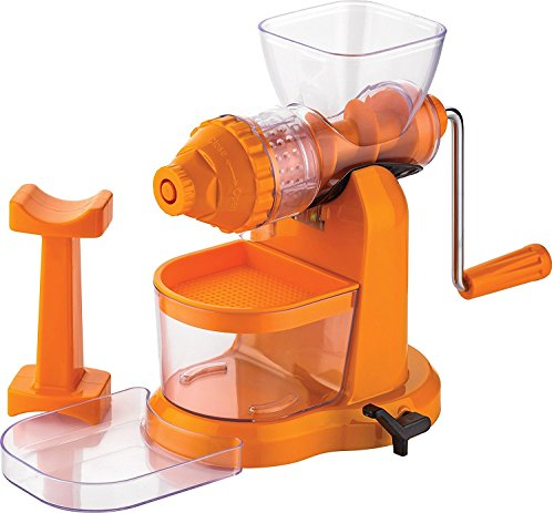 Magikware Fruit Manual Hand Juicer with Waste Collector, Multicolor (Better Preformance)