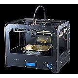 3D-Drucker Personal Protable Desktop (schwarzen) 3-D-Drucker Rapid Manufacturing Systeme 3D-Modelle 3D Drucker 3D Printer mit SD Karte (enthalten 1x 1.75mm 1kg/2.2lb ABS/PLA Filament)