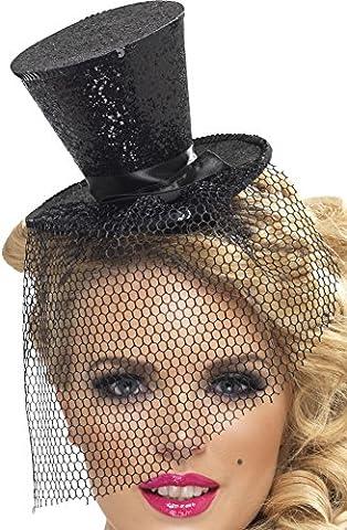Doc Idées De Costumes - Smiffys Déguisement Femme, Mini haut-de-forme sexy, avec
