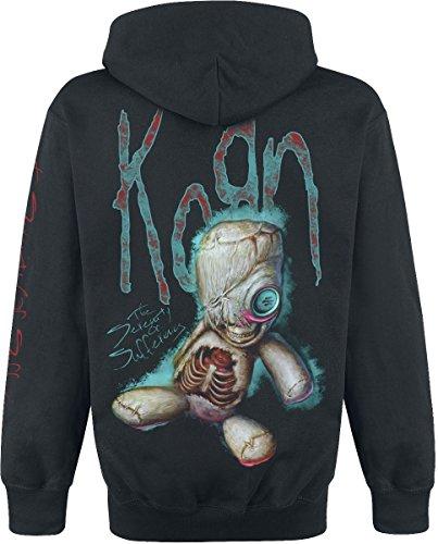 Korn New Doll Kapuzenpulli schwarz Schwarz