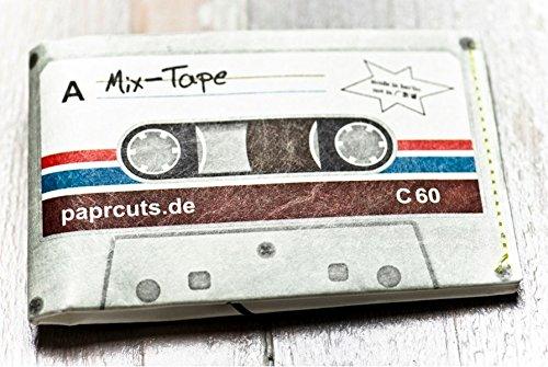 Preisvergleich Produktbild Paprcuts Portemonnaie - MixTape (Big): Ultraleichte Geldbörse - reißfest, wasserfest, recyclebar