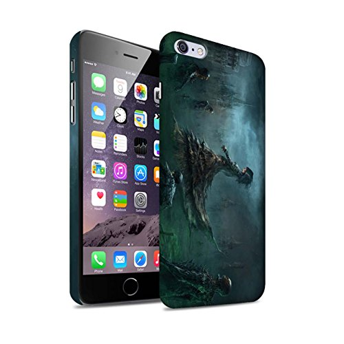 Offiziell Chris Cold Hülle / Matte Snap-On Case für Apple iPhone 6S+/Plus / Hades/Phantom Muster / Unterwelt Kollektion Banshee/Hexe-Königin
