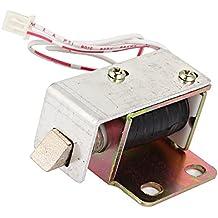 WEONE la puerta del gabinete Conjunto de bloqueo del solenoide eléctrico DC6V 0.35-0.476A TFS-A11 Plaza de bisel de enganche conveniente Ahorro de Energía