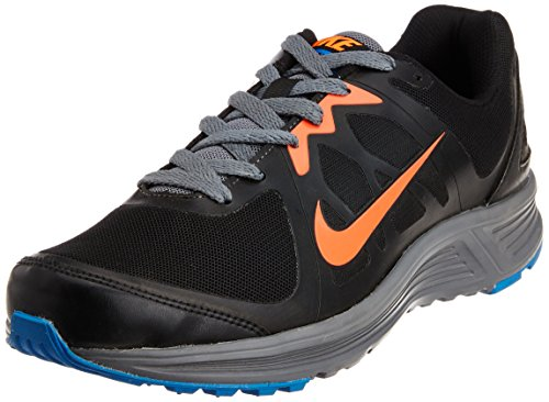 Nike Mens Emerge Black And Base Grey Running Shoes Uk 9 b9cbe3272a