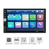 SO-buts 7 Zoll 1080P Doppeltes 2DIN Auto MP5 Spieler BT TOU + ch Bildschirm Stereoradio HD Bluetooth-Touch Screen (Rückfahrkamera)