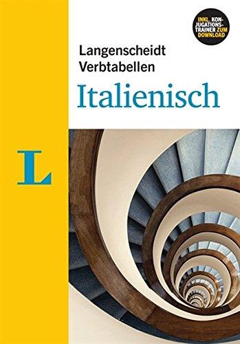 Langenscheidt Verbtabellen Italienisch - Buch mit Software-Download