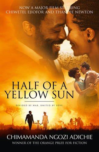 Buchseite und Rezensionen zu 'Half of a Yellow Sun' von Chimamanda Ngozi Adichie