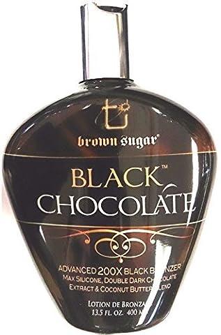 BLACK CHOCOLATE 200X BLACK BRONZER INDOOR TANNING BED LOTION. BROWN SUGAR by Brown Sugar