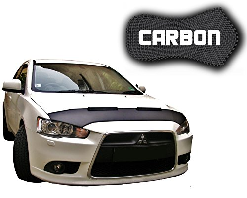 black-bull-mitsubishi-lancer-cy0-carbon-car-bra-bonnet-front-end-mask-hood-tuning-new