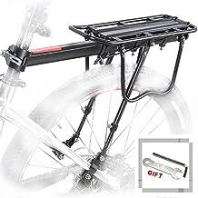 Bici posteriore Rack bicicletta portapacchi in alluminio ciclismo reggisella Rack