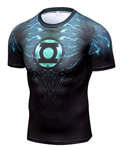 A. M. Sport Camiseta Compresion Hombre Fitness. Camisa