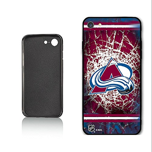 SYSJK Phone Hülle Colorado Hülle 1 Avalanche 1 for iPhone 7 iPhone 8 Generation,PC Material Never Fade Colorado Avalanche Iphone
