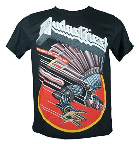 JUDAS PRIEST-Maglietta da uomo nero Screaming For Vengeance Medium Size M