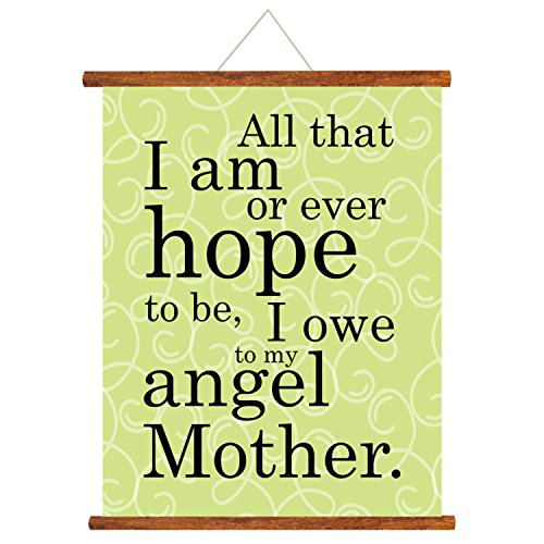 YaYa Cafe Gifts For Mom Angel Mother Scroll Greeting Card