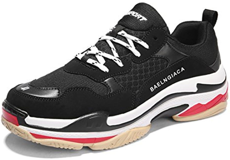 SKY-Maria Hombres Al Aire Libre Zapatos Deportivos Moda Zapatos para Correr Respirable Entrenadores Aumentado