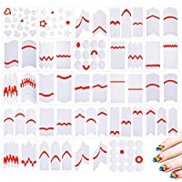 Manicure Nail Tips Line Guide Stickers