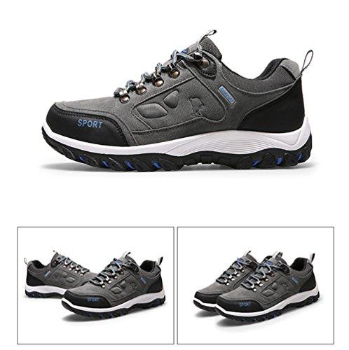Homme Chaussures De Randonnée Baskets Basses Pour Entraînement Shoes Gris