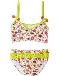 Playshoes - Maillot deux pièces Fille - Girls Sun Protection Bikini Hearts