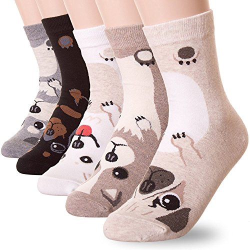 Wollsocken Winter Socken für Damen (3 Paare oder 5 Paare) (5 (5 Paare))