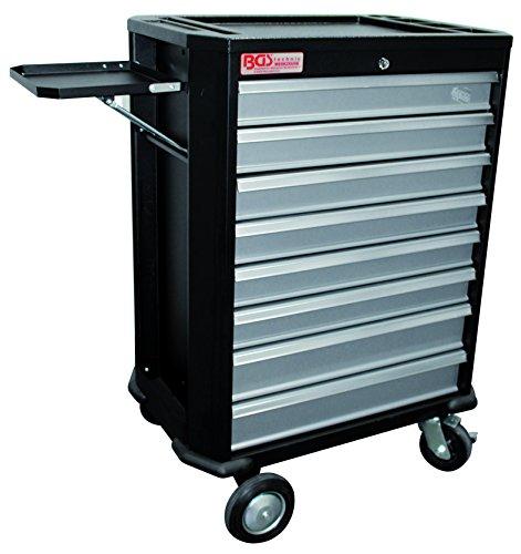 BGS 4100 Werkstattwagen, 8 Schubladen, ohne Inhalt