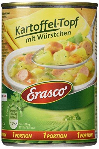 Preisvergleich Produktbild Erasco Kartoffel-Topf mit Würstchen,  3er Pack (3 x 400 g)