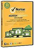 Norton Security con Backup - Valido per 10 dispositivi