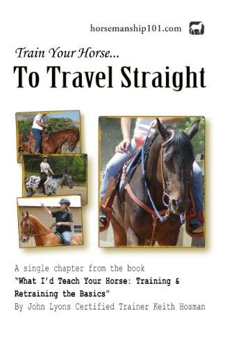 Descargar La Libreria Torrent Train Your Horse to Travel Straight (What I'd Teach Your Horse Book 3) Leer PDF