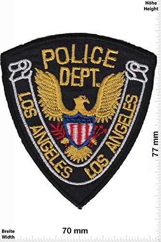 Patch - Police - Department Los Angeles - USA Police - US - Police Patch - Polizei - SWAT - Patches - Aufnäher Embleme Bügelbild Aufbügler (Patches Für Die Polizei)