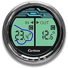 Termometro LCD auto camion temperatura esterna/interna Carlinea Hi-Tech