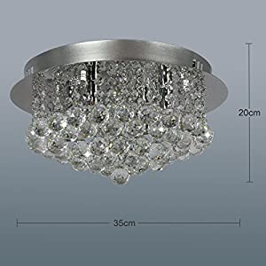 Dst Modern Crystal Ceiling Light, Crystal Pedant Chandelier by NF