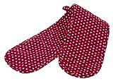 WENKO 2102123100 Topfhandschuh Twin, 80 x 1 x 17 cm, Rot