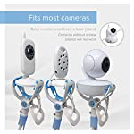 ÿolle | Universal Baby Monitor Holder with Straps | Flexible Baby Camera Mount Shelf | No Drilling | A Safer Monitor Stand for Your Baby 6