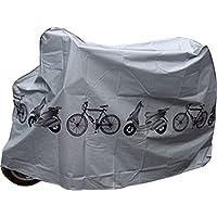 Cubrebicicleta Cubre Bicicleta y Moto Loneta Impermeable Polvo y Humedad 4101