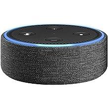 Amazon Echo Dot-Hülle (nur für Echo Dot 2. Generation geeignet), Anthrazit Stoff