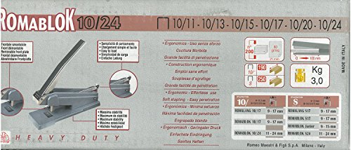 RO-Hefter hohen dicken Ma romablock 10/24-9–24mm Farbe Blau